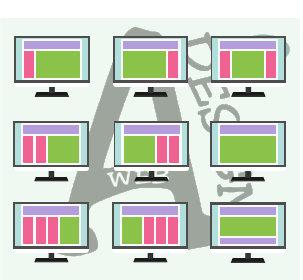 Verschiede Webdesign Layouts für die Homepage